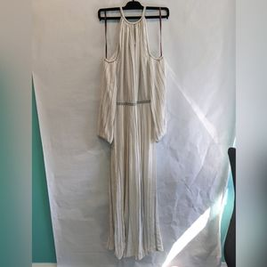 Missoni white with silver maxi dress 10 BNWT
